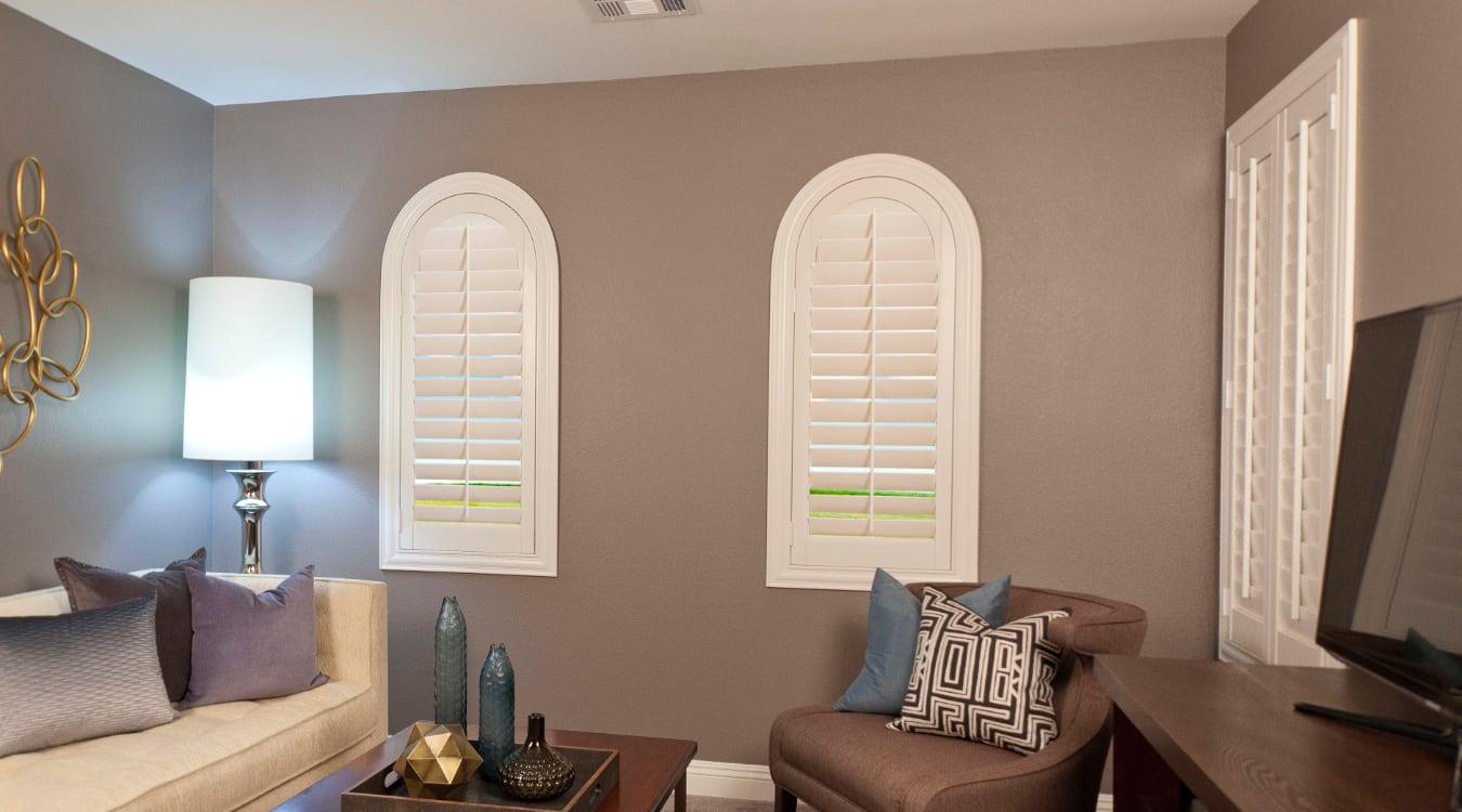 Family Room Window Treatments